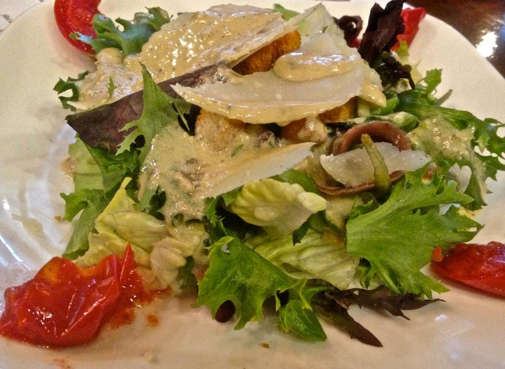 Casear Salad at La Tagliatella