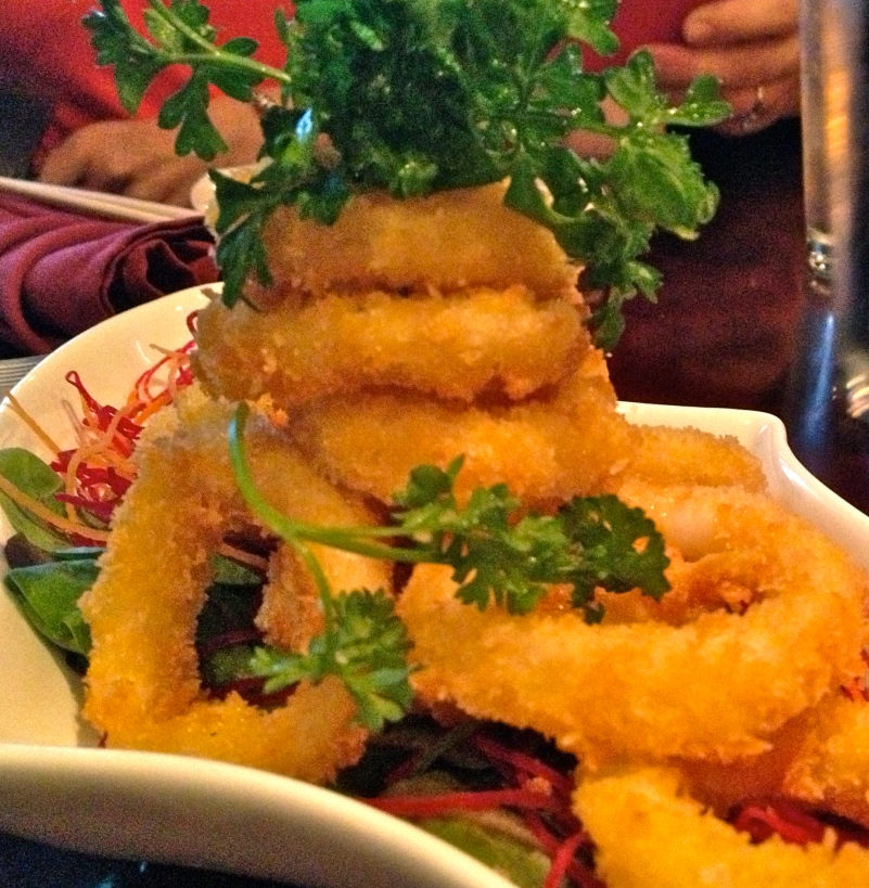 Fried Calamari at Red Ginger