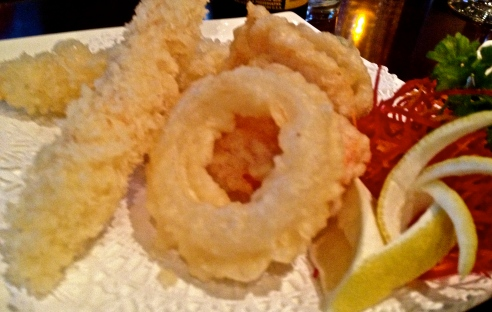 Shrimp Tempura at Red Ginger