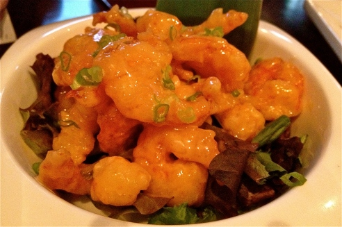 Rock Shrimp at Red Ginger
