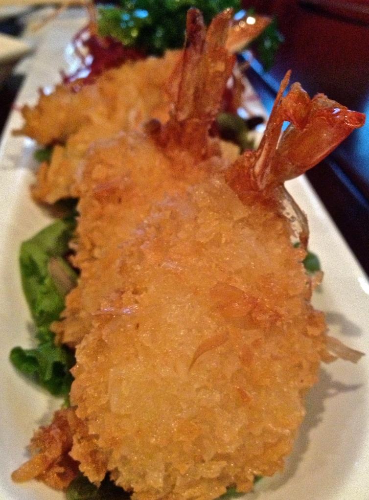 Coconut Shrimp at Red Ginger