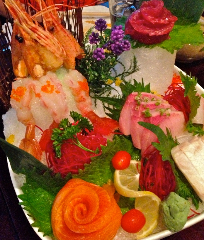 House Sashimi at Red Ginger